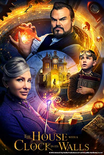 """The House With A Clock In Its Walls"" movie poster"