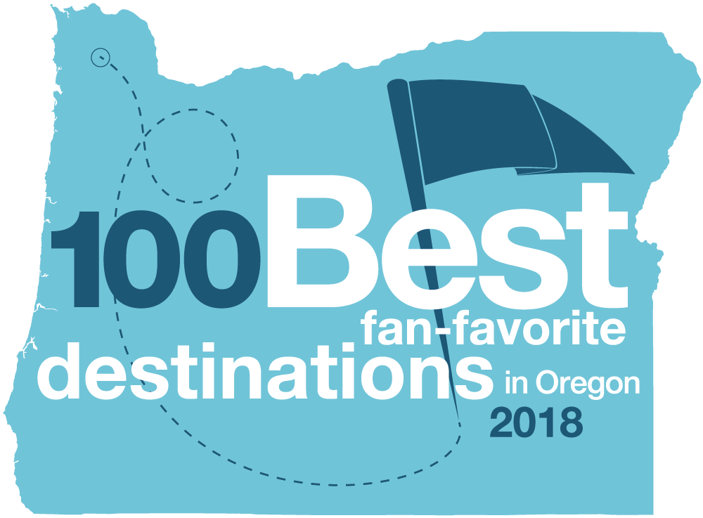 100 Best Fan-favorite destinations in Oregon 2018