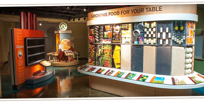 Growing Food for Your Table Exhibit