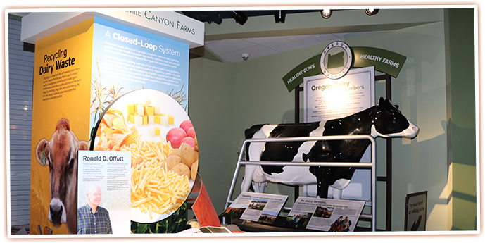 Discover more about Oregon Dairies at the SAGE Center